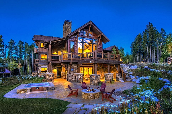 Bristlecone Lodge House Firepit & Hot Tub
