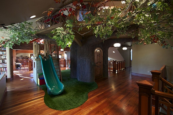 Smithfield Canyon Home Indoor Treehouse