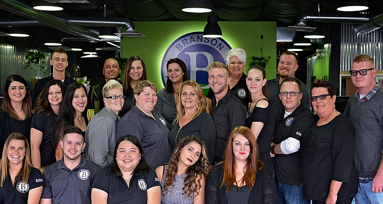 Some of the Branson Travel Office Team