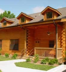 Cabins at Grand Mountain – 2 Bedroom Cabin